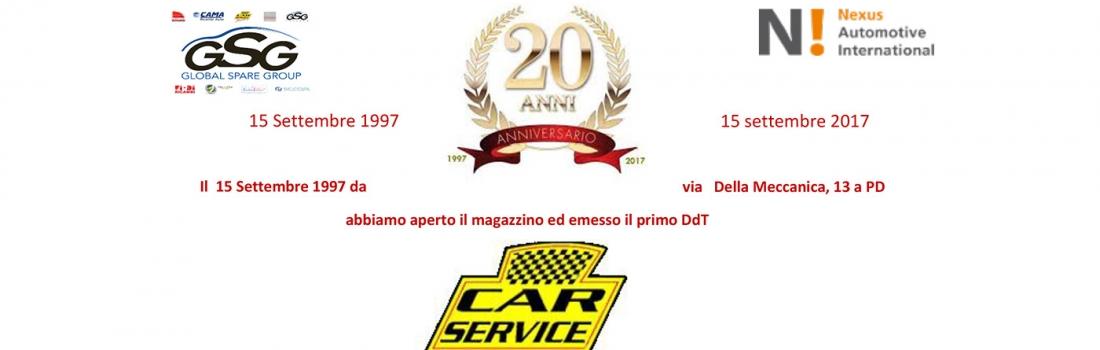 20 anni di Car Service